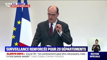 """Covid-19: le gouvernement n'envisage pas """"à ce jour des mesures de relâchement"""" dans les départements où l'épidémie est """"mieux maîtrisée"""""""