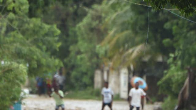 L'Ouragan Matthew a fait au moins sept morts en Haïti et en République dominicaine.