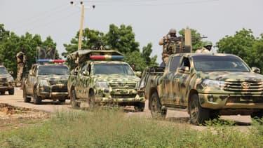 Des patrouilles de l'armée nigériane, le 12 octobre 2019 (photo d'illustration)