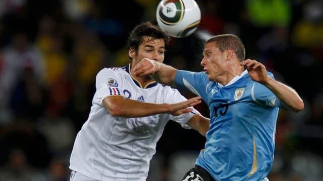 Diego Perez face à Yoann Gourcuff