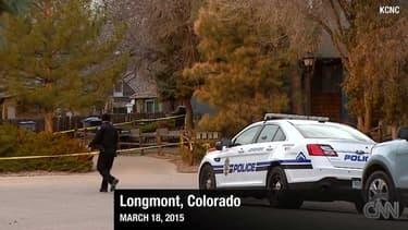 Agents de police du Colorado. (illustration)
