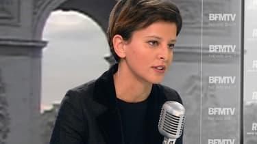 Najat Vallaud-Belkacem, la ministre de l'Education, lundi 8 décembre sur BFMTV et sur RMC.
