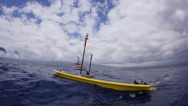 Le drone marin, Wave Gliders, explore des surfaces d'océan toujours inconnus de l'Homme.