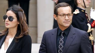 Jean-Luc Delarue et son épouse Anissa, le 16 juin 2011