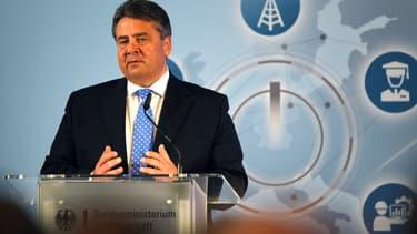 Sigmar Gabriel, le ministre de l'Economie allemand.