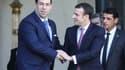 Youssef Chahed et Emmanuel Macron le 15 février 2019