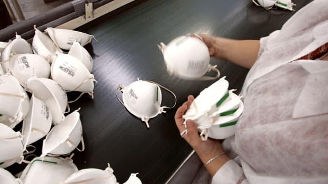 Le prix des masques explosent sur internet