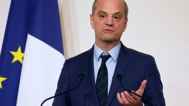 Le ministre de l'Education nationale Jean-Michel Blanquer, le 12 novembre 2020