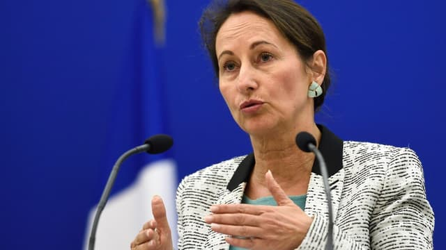 Ségolène Royal a indiqué que si le contrat avec Ecomouv' était suspendu, tel n'était pas le cas de l'écotaxe en elle-même.