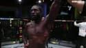 Jared Cannonier après sa victoire contre Kevin Gastelum à l'UFC