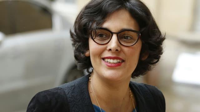 Myriam El Khomri s'est expliquée devant des militants CGT.