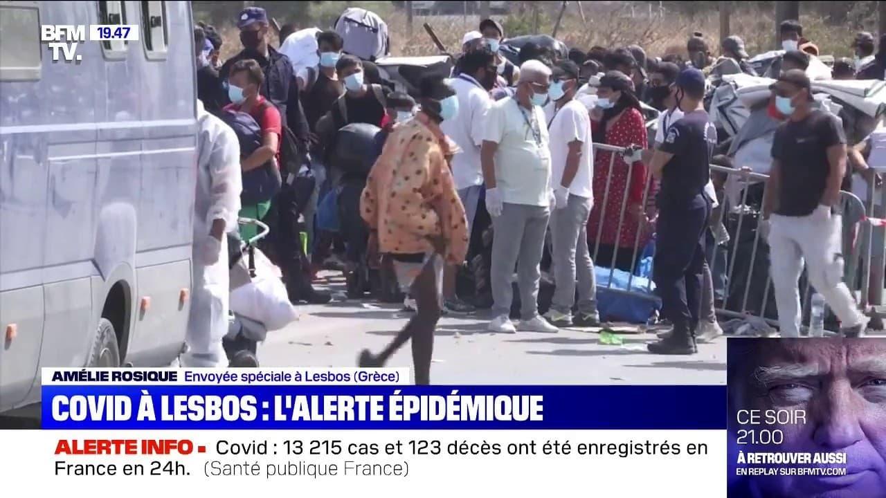 Île de Lesbos: les cas de Covid-19 se multiplient