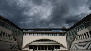 Le palais de Justice de Besançon, le 24 juillet 2020