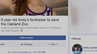 À 6 ans, elle récolte plus de 170.000 dollars pour les animaux du zoo d'Oakland, en Californie