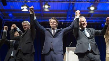 Les cadres du parti Les Républicains à Lyon le 23 mai 2017