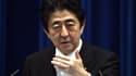 """Nouveau revers pour les """"Abenomics"""" de Shinzo Abe."""