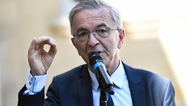 Le président socialiste sortant de Centre-Val de Loire François Bonneau, le 30 juillet 2020 à Paris