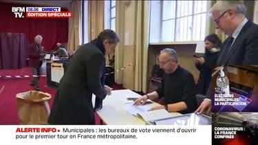 Municipales: Nicolas Sarkozy vient de voter