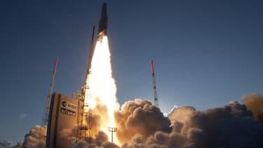Le lancement d'une fusée Ariane 5, en août dernier.