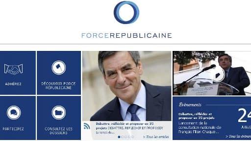 François Fillon invite les Français à réagir sur son site à propos de ses 35 propositions