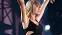 Taylor Swift sur scène lors d'un concert de son 1989 tour, à Philadelphie.