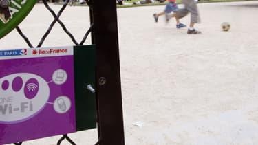 Le wi-fi municipal à Paris est réservé principalement aux parcs et jardins de la capitale.