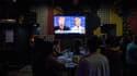 Lors du troisième débat opposant Donald Trump à Hillary Clinton, lors de la campagne présidentielle américaine, en octobre 2016.