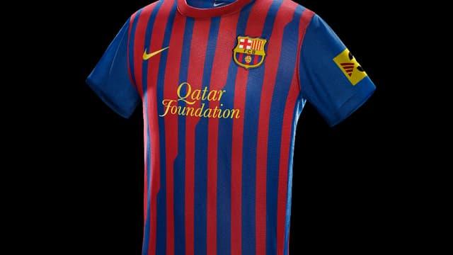 Le nouveau maillot barcelonais