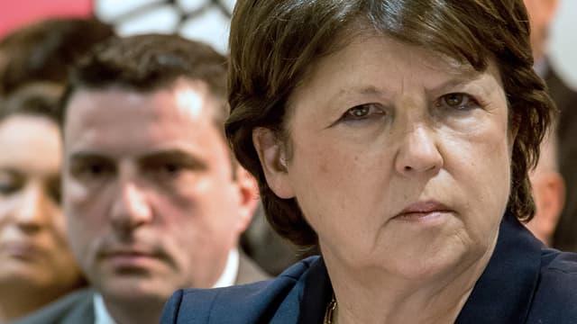 La maire de Lille Martine Aubry