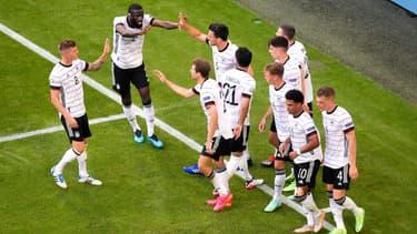 L'Allemagne face au Portugal, à Munich le 19 juin 2021