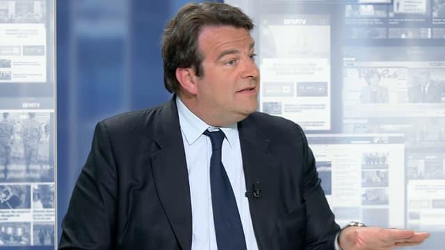 Thierry Solère sur BFMTV, le 5 mai.