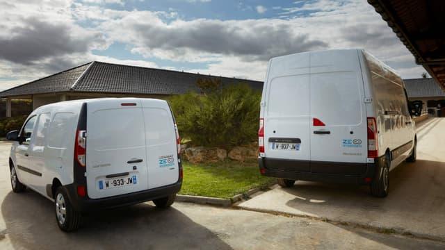 Renault annonce qu'il commercialisera dès la fin de l'année un Kangoo à hydrogène.