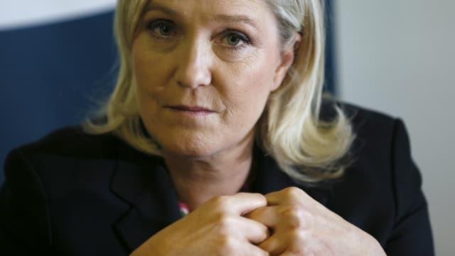 """Marine Le Pen est désormais poursuivie pour """"détournement de fonds publics""""."""
