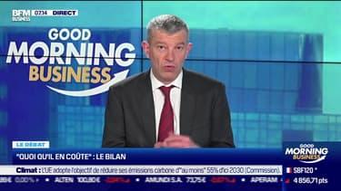 """Le débat  : Le bilan du """"quoi qu'il en coûte"""", par Jean-Marc Daniel et Nicolas Doze - 21/04"""