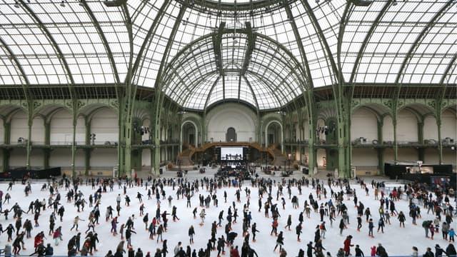 Le 14 décembre prochain, le Grand Palais se transforme en Grand Palais des glaces.