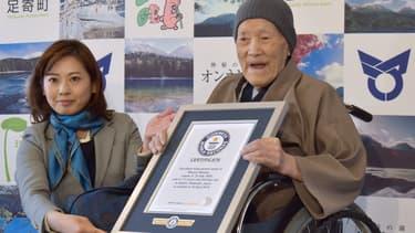 Masazo Nonaka à Ashoro au Japon, le 10 avril 2018.
