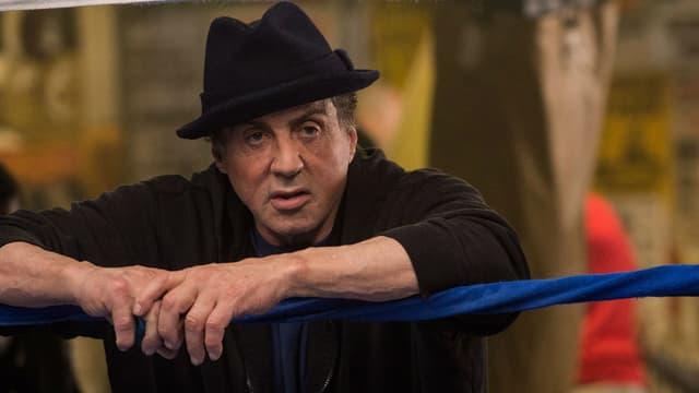 """Sylvester Stallone dans """"Creed: l'héritage de Rocky Balboa"""" en 2015"""
