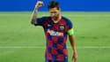 Messi lors de Barça-Naples