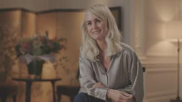 """Laeticia Hallyday dans """"Sept à Huit"""" sur TF1, le 18 octobre 2020."""