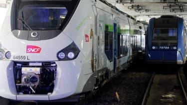 Le TER prévu n'a pas pu partir et a été remplacé par un autre train.