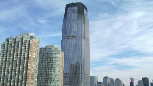 Goldman Sachs (ici le siège du groupe à New York) pourrait quitter Londres.