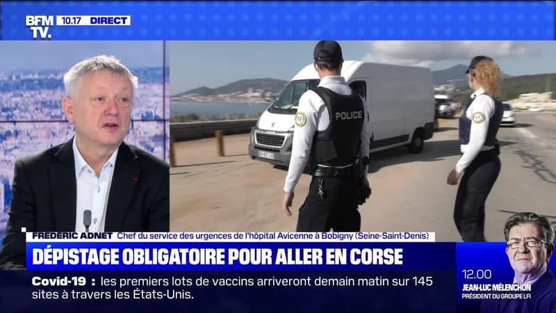 Dépistage obligatoire pour aller en Corse - 13/12