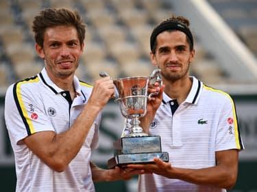 NIcolas Mahut et Pierre-Hugues Herbert sacrés à Roland-Garros