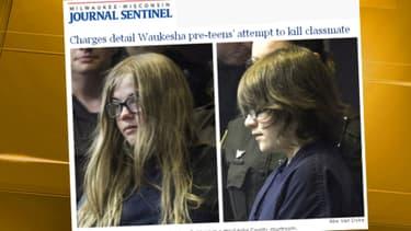 """Les deux jeunes filles affirment avoir voulu tuer pour satisfaire le """"Slenderman"""", créature imaginaire du web."""