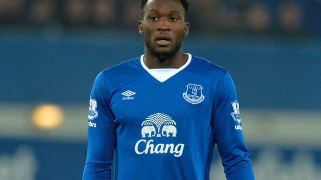 Romelu Lukaku sous le maillot d'Everton