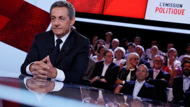 """Nicolas Sarkozy veut """"changer les règles européennes""""."""