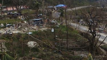 Après le passage de Matthew, les habitations sont méconnaissables en Haïti.