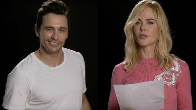 """James Franco et Nicole Kidman ont repris le tube des Spice Girls, """"Wannabe"""""""