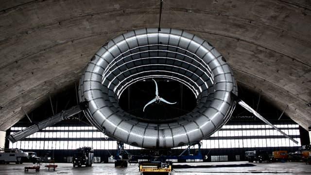 """Baptisée """"The Bat"""", cette éolienne volante est actuellement testée en Alaska."""