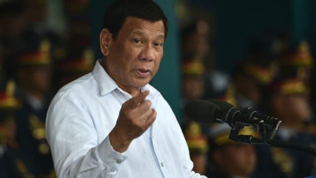 Le président philippin Rodrigo Duterte. (photo d'illustration)